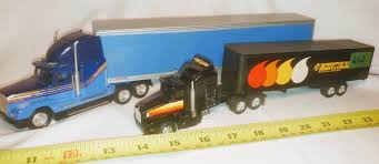 GR OF 2, FRUEHAUF 18 WHEELER TRUCK, BLUE; NORTHLAND 18 WHEELER