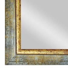 pastellgrau gold barock spiegel wandspiegel badspiegel
