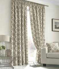 Geometric Pattern Curtains Canada by Plush Design Geometric Curtains Whiteblue Linen Striped Geometric