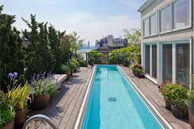 100 Nyc Duplex For Sale TwoStory Penthouse With Stunning Roof Terraces And Swimming Pool In
