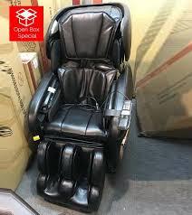 Cozzia Massage Chair 16027 by Cozzia Cz 628 Midnight Black Massage Chair Open Box Special
