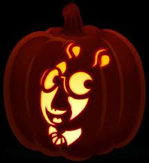 Oscar The Grouch Pumpkin Carving Stencil by Kid Favorites Orange And Black Pumpkins