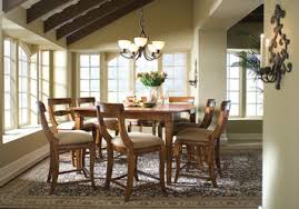 Tuscano Rectangular Square Counter Height Leg Dining Table
