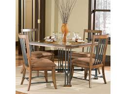100 Dress Up Dining Room Chairs Powell Powell Cafe Warm Brown Gunmetal Charcoal Table With