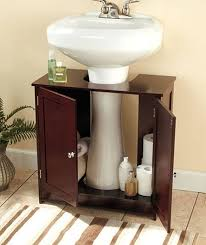 Pedestal Sink Storage Cabinet Home Depot by Pedestal Sink Cabinet Image Of Modern Pedestal Sink Towel Bar