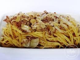 spaghettis crème viande oignons la tendresse en cuisine