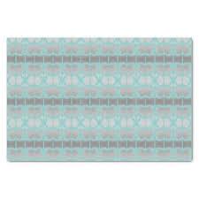 Aqua And Grey Tissue Tissue Paper craft supplies diy custom design