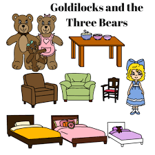 Printable Story Book Characters Little Red Riding Hood Goldilocks And The Three Pigs