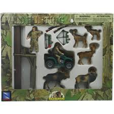 Artificial Christmas Tree Stand Walmart by Wild Hunting Deer And Tree Stand Set Walmart Com