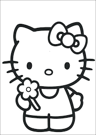 Awesome Coloring Pages Hello Kitty Princess Print Original Characters Looks Rustic Article Superb Known Unique Kid