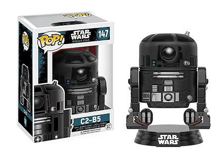 Funko POP! Star Wars Rogue One Vinyl Figure - C2-B5