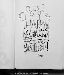 Drawn birthday creative 1