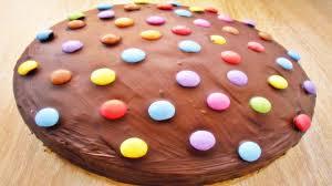 rezept saftiger schokoladenkuchen mit smarties chocolate cake with smarties