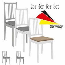2er 4er 6er set esszimmerstühle küchenstuhl polstern massivholz küchenstuhl neu ebay