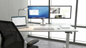 Desk Mount Monitor Arm Singapore by Streamline Your Space With Humanscale U0027s Ergonomic Docking Station