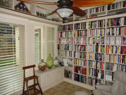 floor to ceiling bookshelves diy tension pole shelving plans with