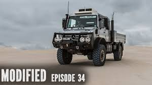 100 Unimog Truck Review Modified Episode 34 YouTube