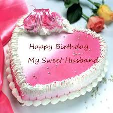happy birthday my husband cake images photo edit lovely pink wish cakes with sweet