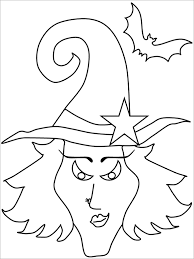 Amazing Halloween Coloring Page For Free