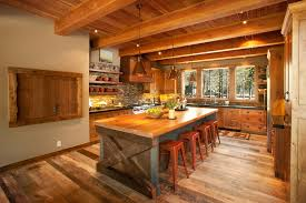Rustic Kitchen Islands Endearing Interior Charming A Decor
