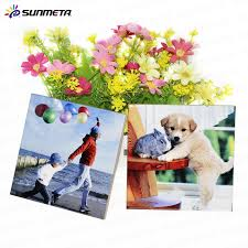 sunmeta custom sublimation printing tiles buy blank sublimation