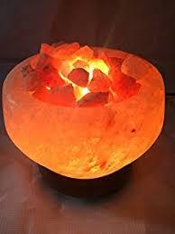 Himalayan Salt Lamp Amazon by Buy Himalayan Rock Salt Lamp In Fire Bowl Shape Online At Low