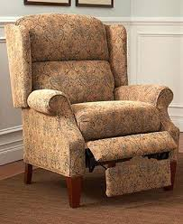 Lane Wing Chair Recliner Slipcovers by Leather Queen Anne Recliner Chairs Lane Queen Anne Recliner Chair
