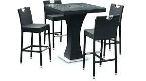 table de cuisine avec tabouret table bar pour cuisine table haute pour cuisine avec tabouret