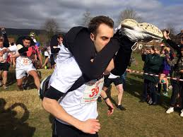 Milwaukee Tool United Kingdom Power by Milwaukee Couple Strides To Victory In Britain U0027s Wife Carrying Race