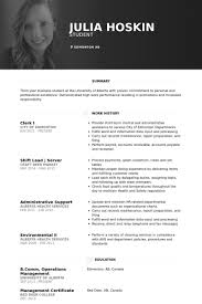 clerk resume sles visualcv resume sles database
