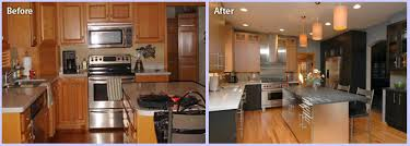 Image Of Small Kitchen Remodel Before And After Picture Gallery