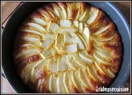 dessert aux pommes sans gluten gâteau aux pommes sans gluten râle beaucoup mais