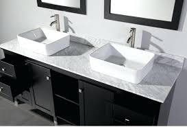 single drop in bathroom sinks and vanities made of porcelain in