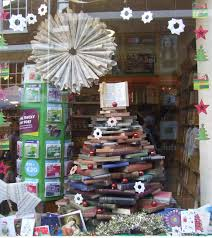 Christmas Tree Books by The Upcycled Christmas Tree Christmas Store Displays Christmas