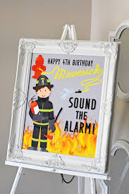 100 Fire Truck Birthday Party Invitations Sound The Alarm For The Ultimate