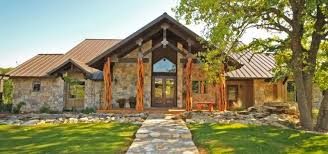 Texas Hill Country House Plans With Limestone Materials For Ranch Style Of Rustic Charm 10