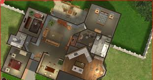 Sims 3 Floor Plans Download by Sims 2 Lot Downloads Cute Tan House
