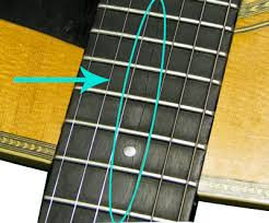 Acoustic Guitar Fretboard Crack Repair