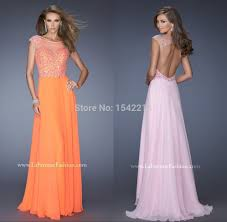 online get cheap short orange chiffon dress aliexpress com