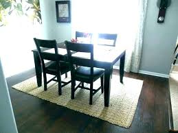 Area Rug Under Dining Room Table Carpet Kitchen On Image Of Best