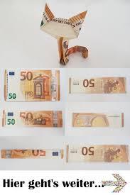 faltbare katze aus einer banknote anleitung katzen in 2020