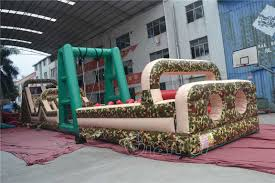 Halloween Inflatable Arch by Army Inflatable Obstacle Course Channal Inflatables