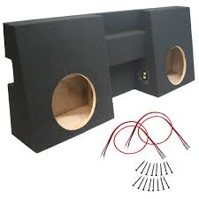 100 Truck Subwoofer Box Toyota Tacoma 05 12 Double Cab Dual 10quot Sub Double 12