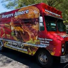 100 Food Trucks In Phoenix Burgers Amore Roaming Hunger