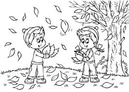 Printable September Fall Coloring Pages For Toddlers Preschoolers With Regard To