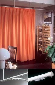 rideau separateur de rail à rideaux pour rideau drapé professionnel pour