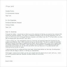 Sample Resignation Letter For Nurses Scribd Mamiihondenk Org