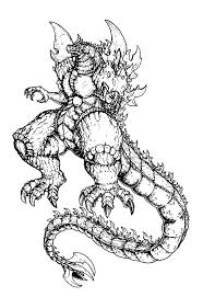 Godzilla Mother Of Coloring Pages