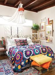 Bohemian Bedroom Interior Design Ideas