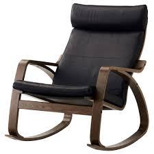 Ikea Poang Rocking Chair Nursery by Poäng Rocking Chair Smidig Black Ikea